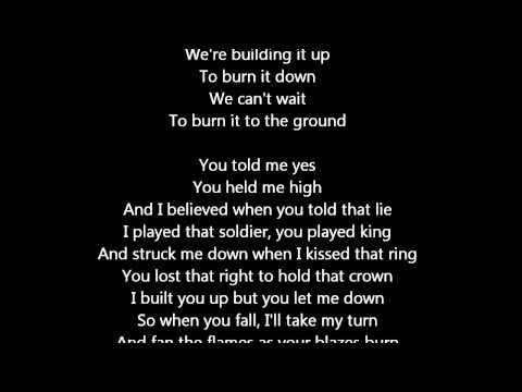 LINKIN PARK - BURN IT DOWN music + lyrics [LIVING THINGS]