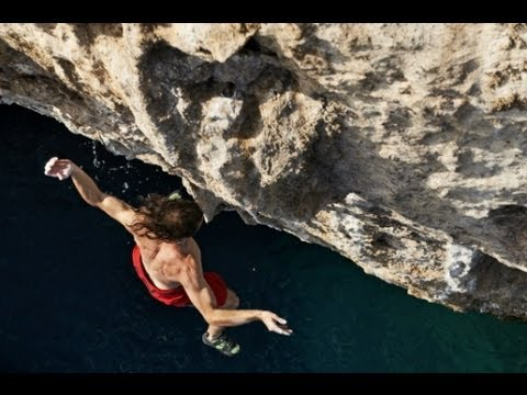 Falling Water Live Wallpaper Deep Water Solo Climbing Red Bull Psicobloc Olympos
