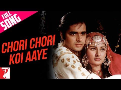 Chori Chori Koi Aaye - Full Song | Noorie | Farooq Sheikh | Poonam Dhillon  Lata Mangeshkar