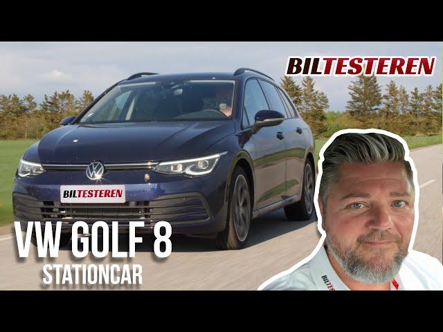 Irriteret og imponeret på samme tid! VW Golf 8 stationcar (test)
