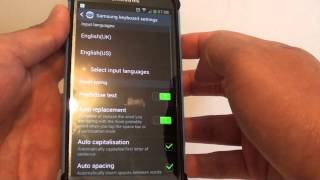 Samsung Galaxy S4: How to Reset Keyboard Settings