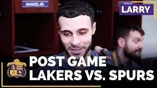 Larry Nance Jr. After His Best Game Of The Season