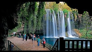 Düden şelalesi - Duden waterfall - Antalya / Turkey