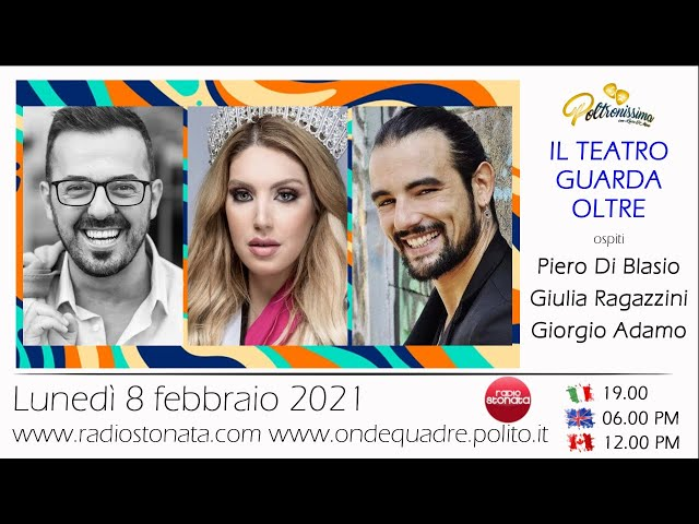 08.02.2021 - P. Di Blasio - G. Ragazzini e G. Adamo ospiti  in diretta a Radio Stonata