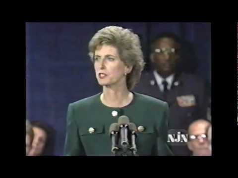 * Christine Whitman 1994 Inaugural Address (Center on the American Governor)