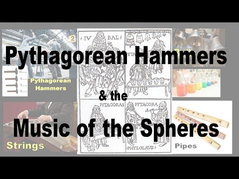 Parthenon Mystery Part 4- Pythagorean Hammers, Music of the Spheres, Harmonics & Bode's Law