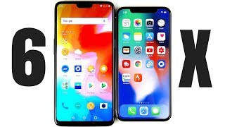 OnePlus 6 vs iPhone X Full Comparison!
