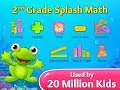 2nd Grade Splash Math Games. Cool worksheets for kids to learn addition, subtraction and geometry