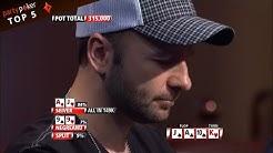 Top 5 Sickest Poker Hands | Poker Legends