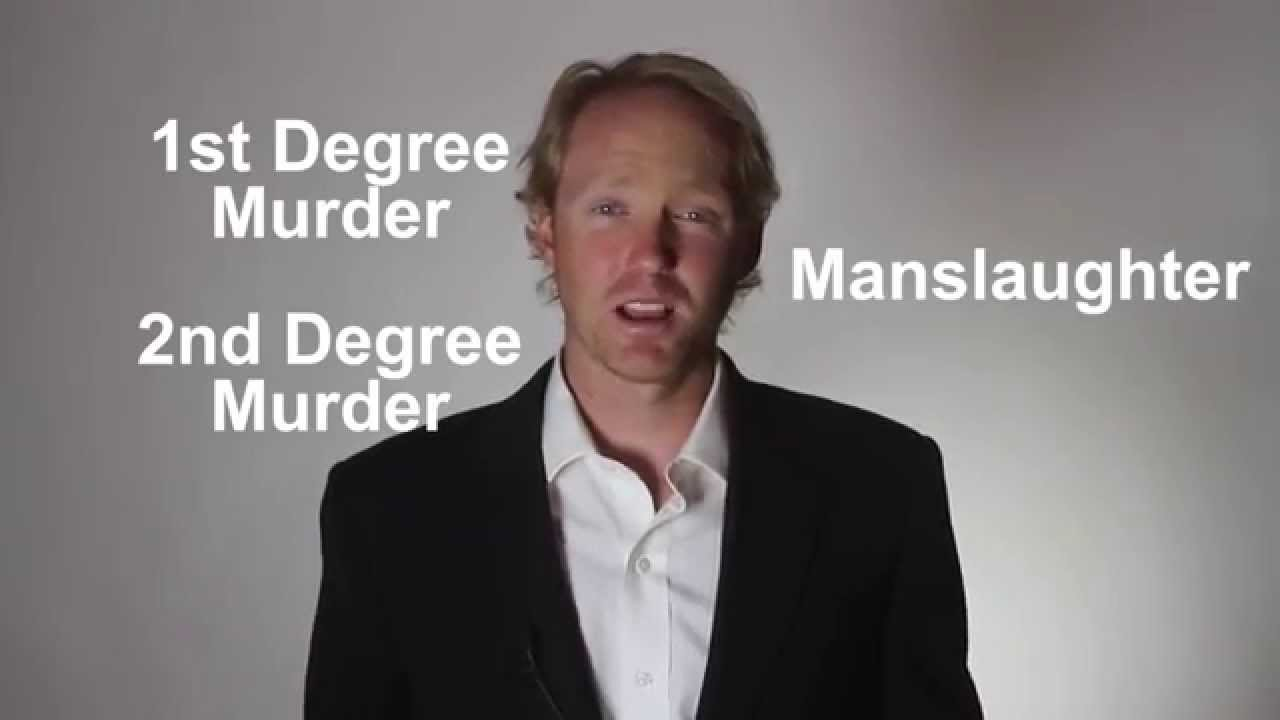explained st degree murder nd degree murder and manslaughter explained 1st degree murder 2nd degree murder and manslaughter