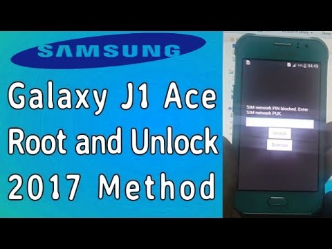 How To Root And Unlock Galaxy J1 Ace SM J110G 2017 - Faisal