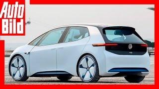 VW I.D. Studie (2017) - Erste Fahrt in VW's Antwort auf Tesla - Details