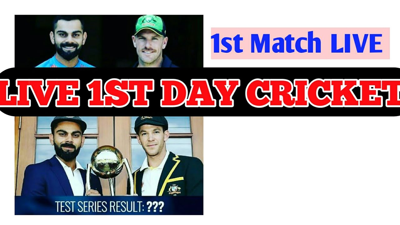 Australia Vs India After 1st Session In 1st Test Match India Vs
