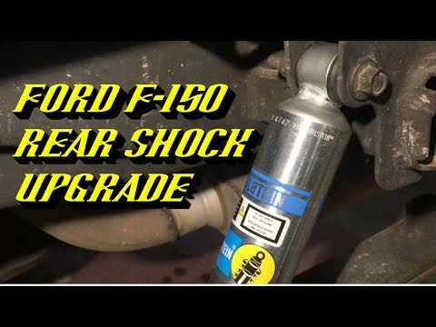 2004 2017 Ford F 150 Rear Shock Replacement Featuring Bilstein 5100 Series Shocks