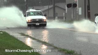 8/7/2014 Marion, IL Street Flooding & Heavy Rains