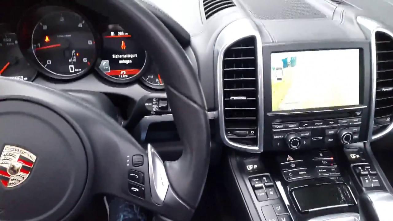 Porsche Cayenne PCM 3 1 navigation , aftermarket Rear camera install with  OEM PDC