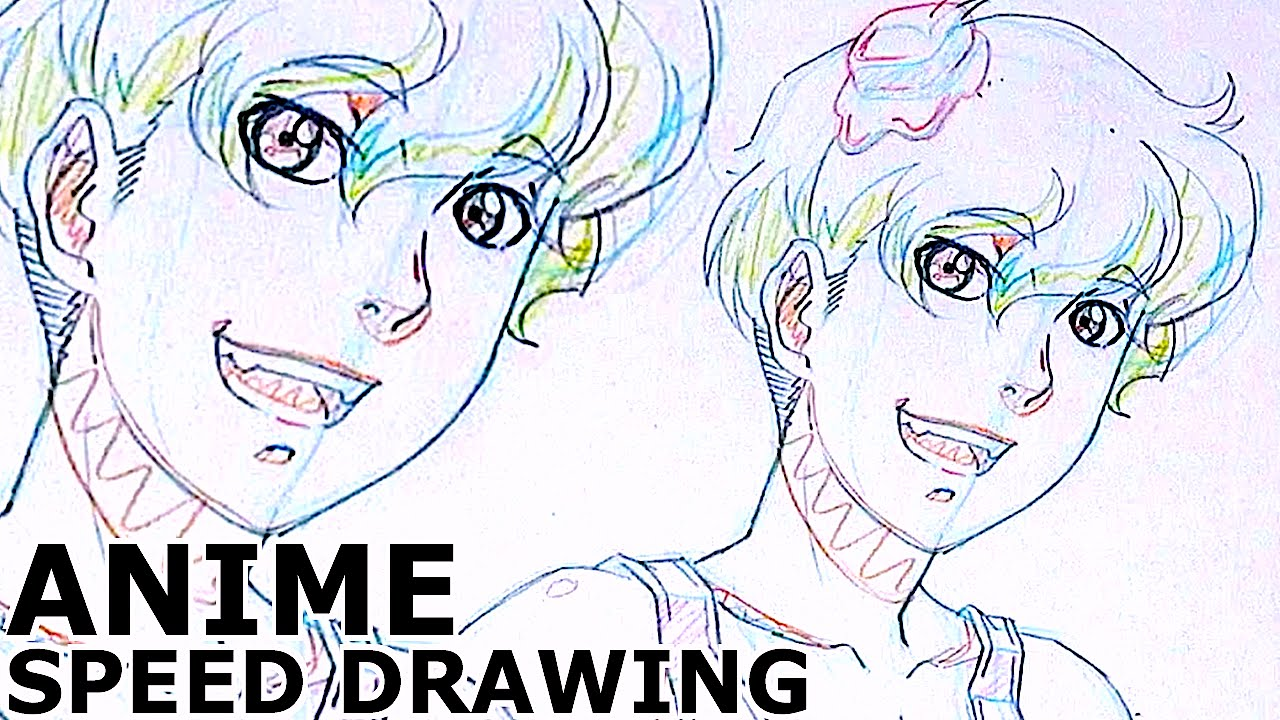 how to draw a handsome boy