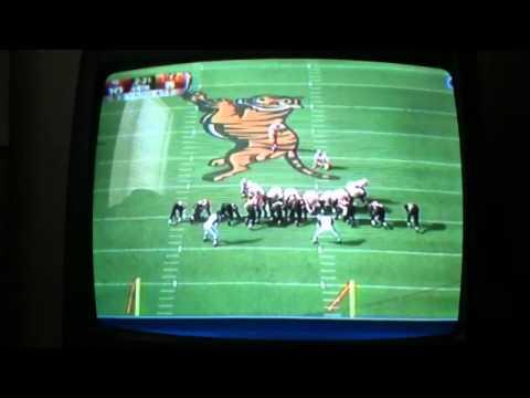 David Akers 53 yard field-goal against Cincinnati bengals