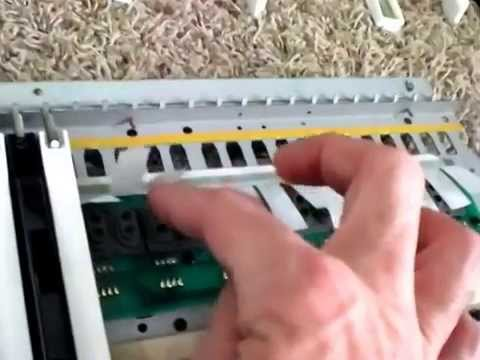 Roland D-50 Synthesizer disassemble and typical problem areas to check
