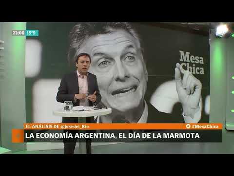 """José del Río: Hasta cuándo la Argentina vivirá en la """"economía de la marmota"""" - Mesa Chica"""