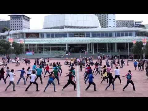 Sachin Anthem Flash Mob Aotea