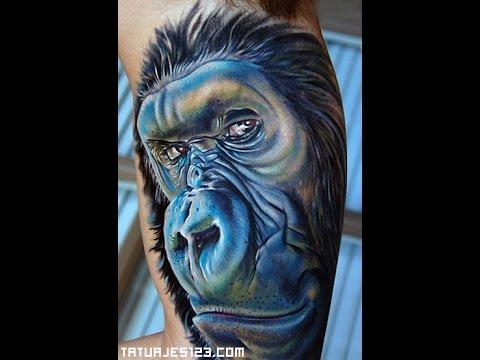 Tatuajes de  Gorilas  - *** Ideas para tu tatuaje ***