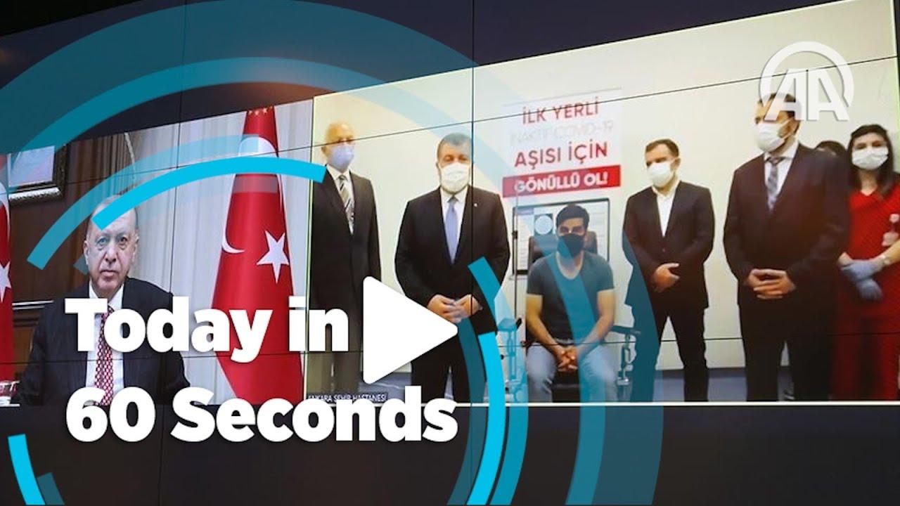 Today in 60 seconds ( June 22, 2021 ) - Anadolu Agency