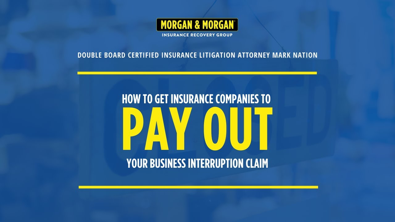 How to Get Insurance Companies to Pay Out Your Business ...