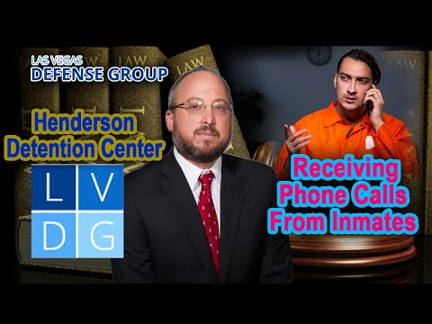 Henderson Detention Center - Receiving Phone Calls from ...