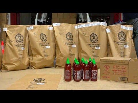 Cosmic Kev -  Sheesh: $210 Million Worth of Meth Found in Sriracha Bottles
