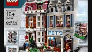 Lego Exclusive, 10218  Pet Shop