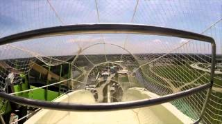 what it s like to ride the world s tallest scariest water slide