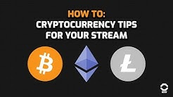 How to accept cryptocurrency tips while streaming - Bitcoin, Litecoin, and Ethereum!