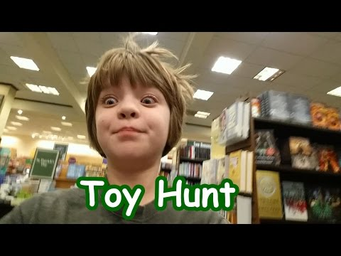 Toy Hunt at Barnes and Nobel and Target - Day 615 | ActOutGames