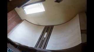 Réalisation Rampe Half-pipe Pour Freestyle Roller, Skate, Trottinette Et Bmx ( Module Maison )