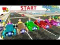 Bike Racing Games - Kids Hover Craft Speed Racing - Gameplay Android free games