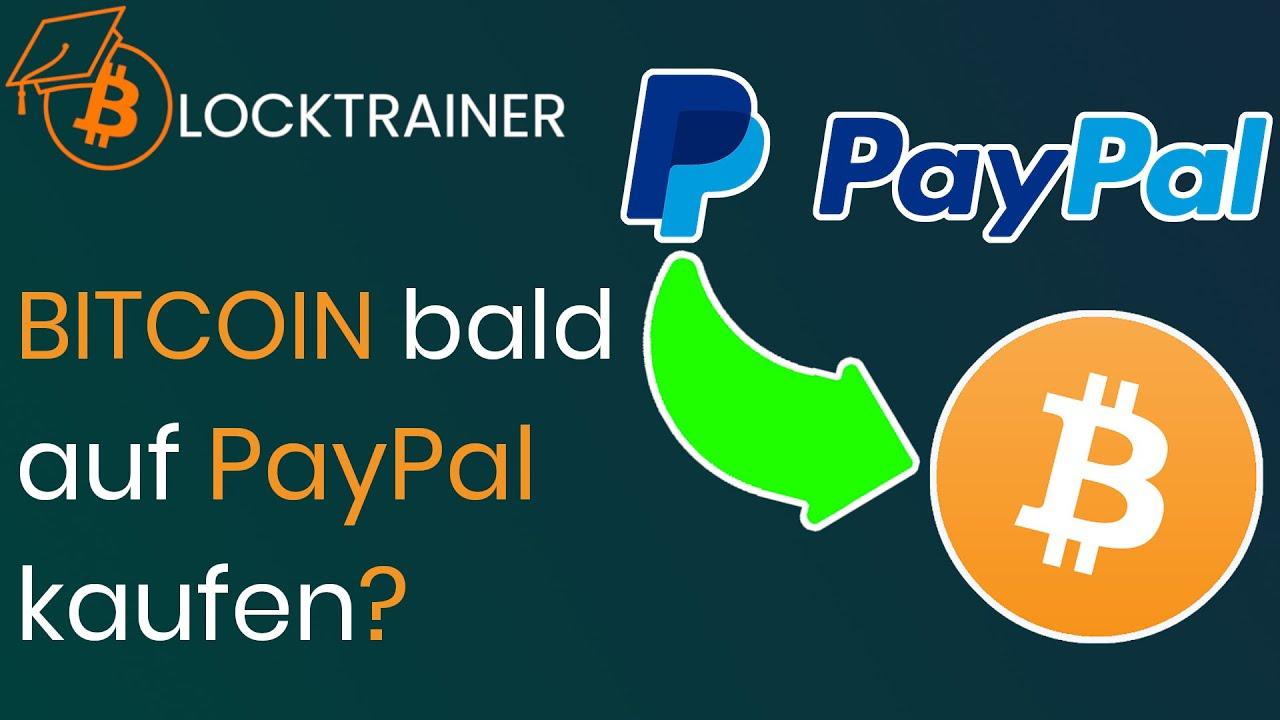 Bitcoin Auf Paypal