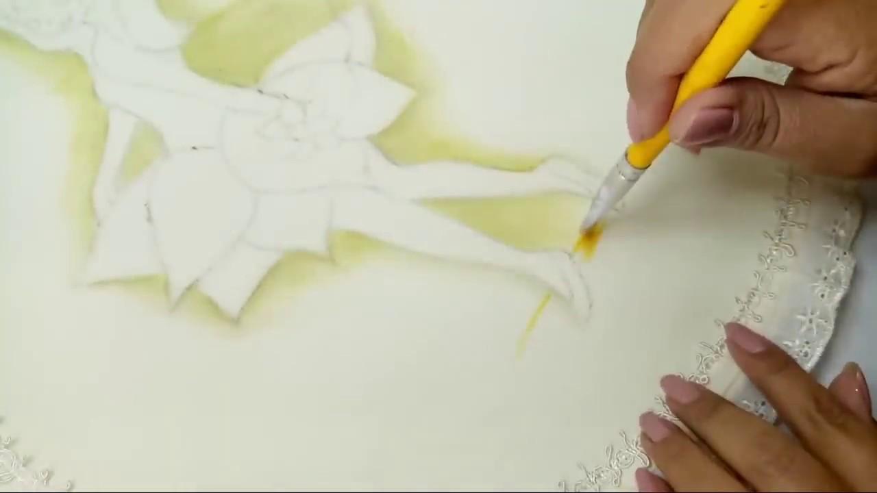 Tutorial De Pintura Como Pintar Una Hada Pintura Acrílica ...