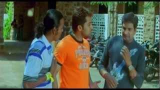 Sillunu Oru Kaadhal - Tamil | Bhumika Chawla gives Suriya a letter | Santhanam | Comedy Scene