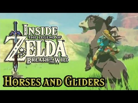 Inside Zelda Breath of the Wild - Horses and Travel