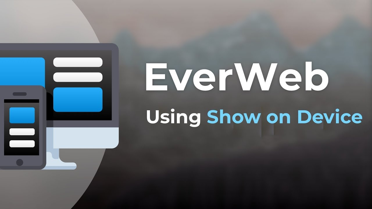 EverWeb 2 9 Available With New Responsive Website Building Features