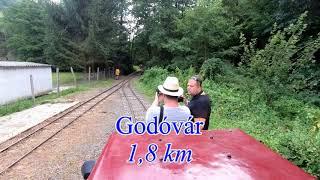 The Line Kemence - Feketevölgy (Nr. 319) 5x speeded