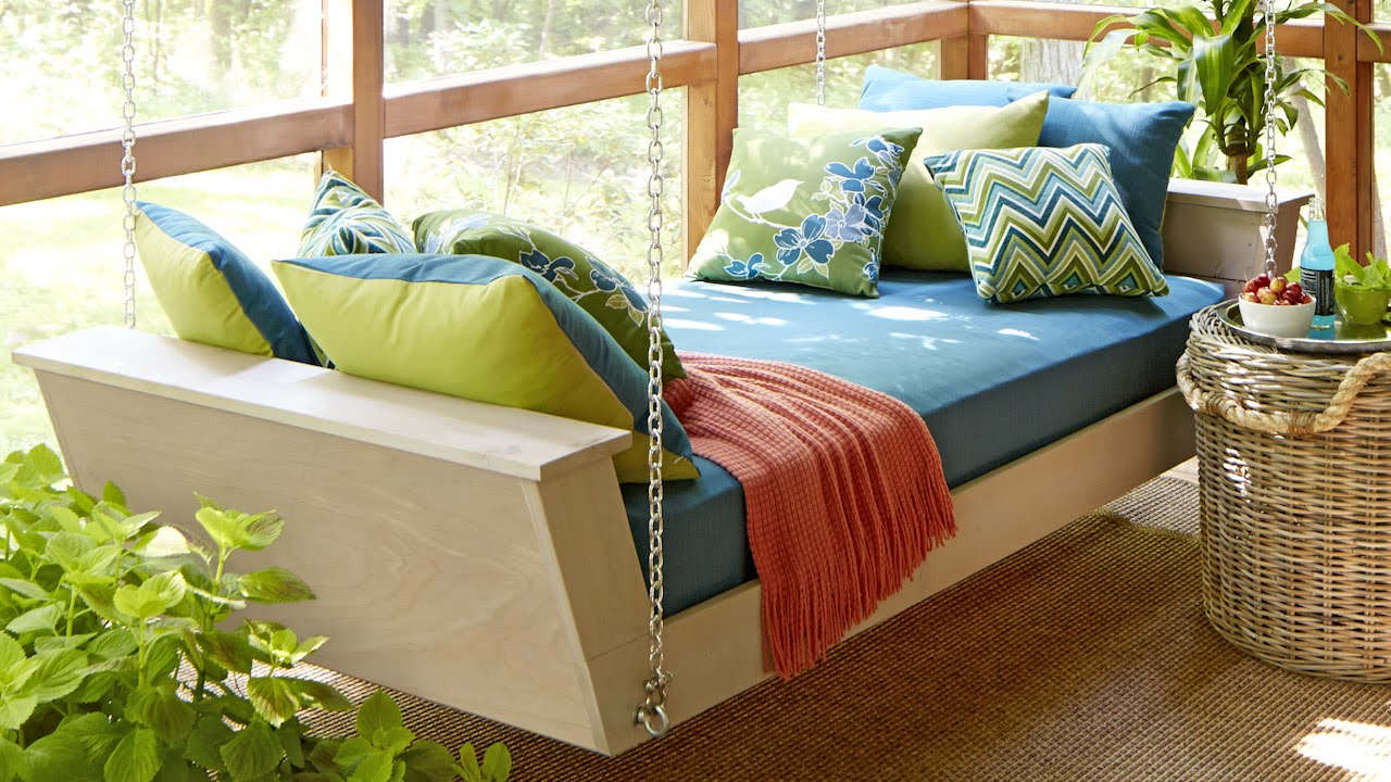 Hanging Daybed Plans Youtube