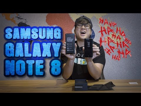 Unboxing the Samsung Galaxy NOTE 8!!