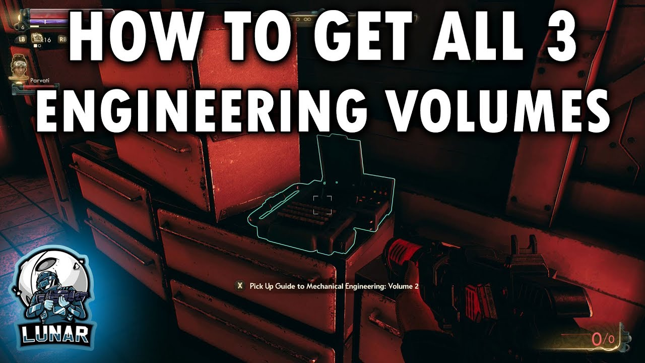 All 3 Mechanical Engineering Volume Locations The Frightened Engineer The Outer Worlds Youtube The frightened engineer, one of the first side quests in the outer worlds, will send you on a hunt for three mechanical engineering volumes for thomas. all 3 mechanical engineering volume locations the frightened engineer the outer worlds