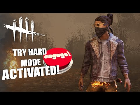 TRY HARD ACTIVATED!   Dead By Daylight LEGACY SURVIVOR GAMEPLAY