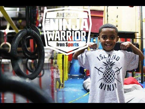 Kids American Ninja Warrior Competition 2017 at Iron Sports!