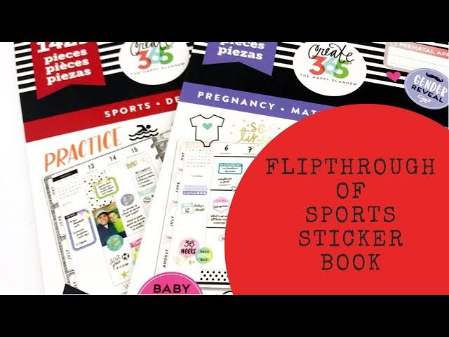 mambi-sticker-book-flipthrough-sports