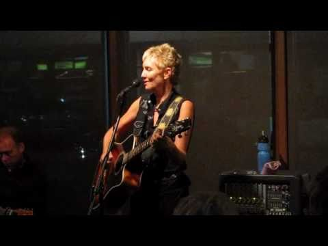 Eliza Gilkyson performs her song 'Hard Times in Babylon' at Conroe House Concerts.