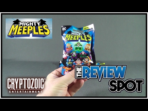 Collectible Spot - Cryptozoic Entertainment DC Mighty Meeples Blind Bags OPENING!